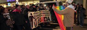 Nur 15.000 Teilnehmer in Leipzig: Legida verfehlt das selbst gesteckte Ziel