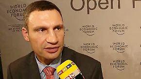 """Klitschko zum Ukraine-Konflikt: """"Die Situation ist eskaliert"""""""