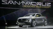 Auch Hyundai zeigt sein erstes Plug-in-Hybridmodell auf der Automesse in Detroit.