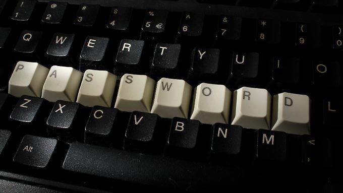Nur gegen starke Passwörter haben Hacker keine Chance.