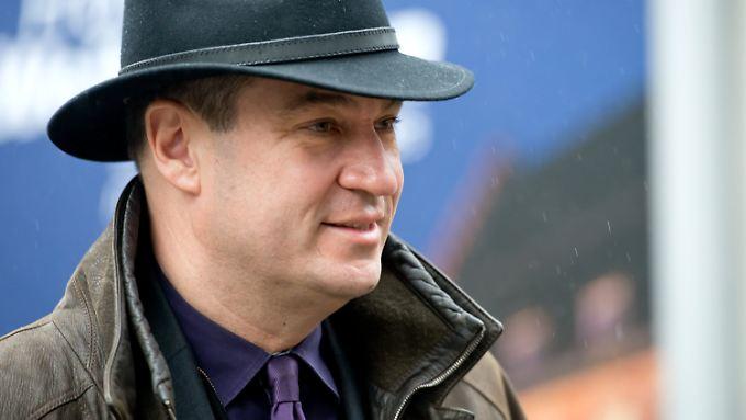 Markus Söder entfaltet ungeahnte Talente als Schauspieler.