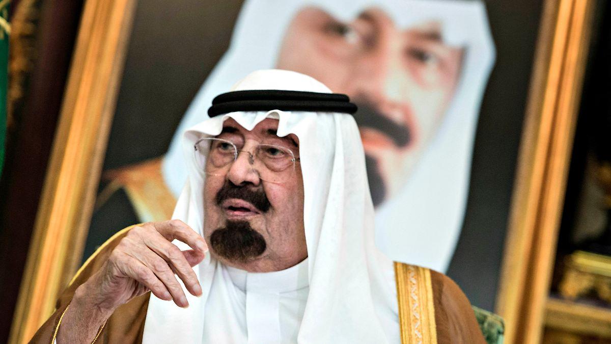 Zeitenwende in Saudi-Arabien: König Abdullah ist tot - n-tv.de NACHRICHTEN