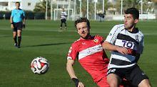 Das Testspiel von Christian Gentners VfB Stuttgart gegen KF Laci aus Albanien soll verschoben worden sein.