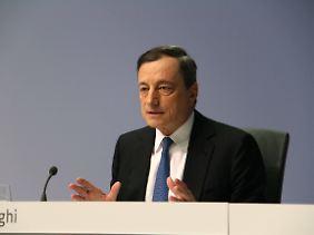 Mario Draghi fordert eine stärkere Vereinheitlichung der Wirtschaftspolitik.