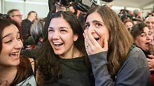 """""""Die Hoffnung hat gesiegt"""": Linksbündnis Syriza gewinnt Wahl in Griechenland"""