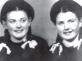 Eva und Miriam nach dem Krieg als Gymnasiastinnen im rumänischen Klausenburg.