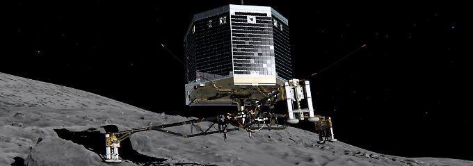 Komet schüttelt sich aus: Rosetta nimmt Tschuris Staub unter die Lupe