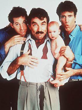 """Ausflug ins Kino: """"Noch drei Männer, noch ein Baby"""" von 1988."""