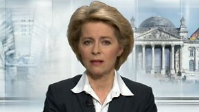 """Von der Leyen im n-tv Interview: """"2014 sind die Probleme massiv auf den Tisch gekommen"""""""