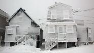 Auf Nantucket, einer kleinen Insel vor der Küste von Massachusetts, bläst der eisige Wind mit einer Geschwindigkeit von bis zu 120 Stundenkilometern.