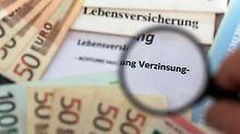 Gute Nachricht für Verbraucher:Versicherungsmathematiker empfehlen, den Garantiezins für Lebensversicherungen 2016 beizubehalten. Foto: Jens Büttner