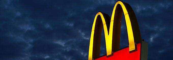 Weltbekanntes Logo: Dieser Werbeträger steht in Encinitas im US-Bundesstaat Kalifornien.