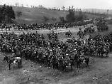 Die Kriege des 17. bis 20. Jahrhunderts trugen weltweit maßgeblich zur Ausbreitung des Rotz bei. Hier eine Aufnahme von 1916, 1. Weltkrieg.