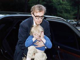 Der kleine Ronan 1993 mit Woody Allen