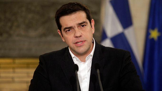 Der neue Griechen-Premier Alexis Tsipras trifft heute zum ersten Mal auf den Widerstand der Euro-Länder.