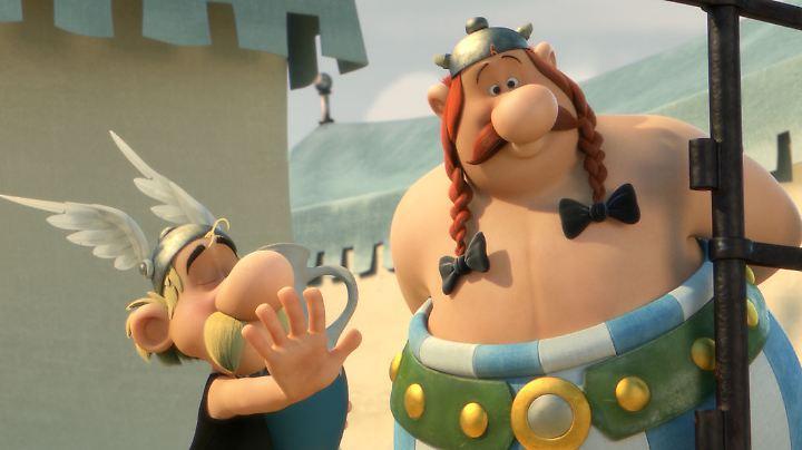 Wieder auf der großen Leinwand vereint: Asterix und Obelix, diesmal gesprochen von Milan Peschel und Charly Hübner.