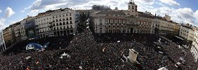 Politikwechse à la Syriza: Zehntausende demonstrieren in Madrid