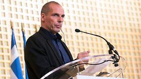 Troika offenbar vor dem Aus: Griechischer Krawall-Minister geht auf Kuschelkurs