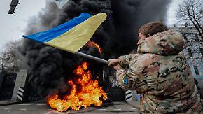 Hunderttausende auf der Flucht: Krieg in der Ukraine wird immer brutaler
