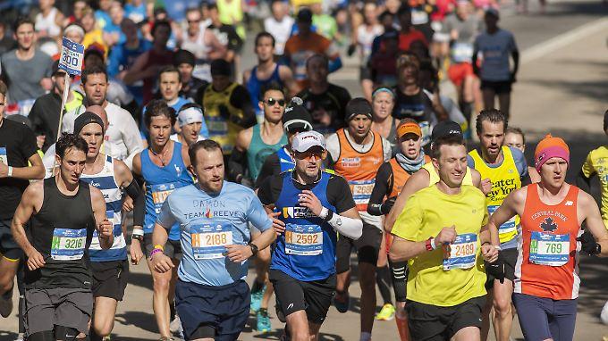 Marathon-Läufer sollten das Laufen nicht übertreiben, warnen Forscher.