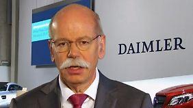"""Daimler-Chef Zetsche im Interview: """"Risiken sind externer Natur"""""""