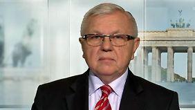 """Nato-General a.D. Harald Kujat: """"Risiko der Ausweitung des Ukraine-Krieges wird größer"""""""
