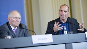 Athen unter Druck: Schäuble macht Varoufakis keine Zusagen