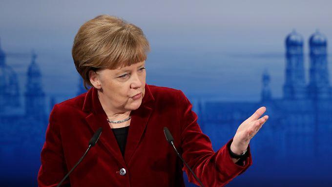 Merkel skizzierte bei der Münchner Sicherheitskonferenz ihre Idee vom überlegenen demokratischen System, das nur einen langen Atem beweisen müsse.