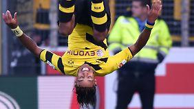 Highlights vom 20. Spieltag: Borussia Dortmund und Hertha kämpfen sich aus dem Keller