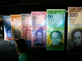 Hübsches Geld: Der Kurs des venezolanischen Bolivars sieht ungewohnt unruhigen Zeiten entgegen.