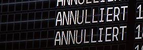 Piloten-Streik angelaufen: 160 Germanwings-Flüge sollen ausfallen