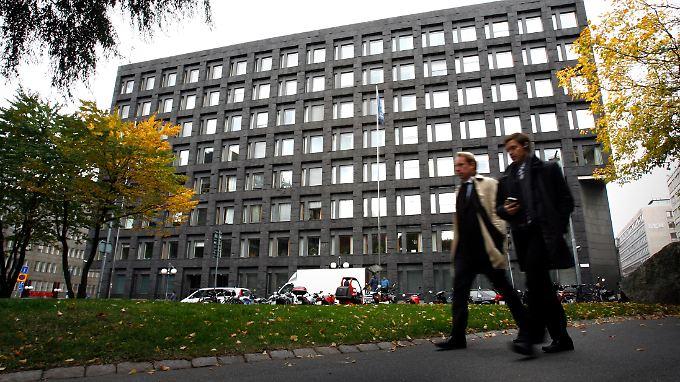 Hauptsitz der Schwedischen Notenbank in Stockholm.