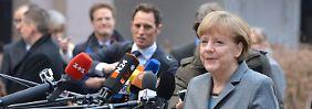 Einigung im Schuldenstreit möglich: Merkel streckt die Hand aus