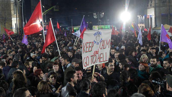 Die Troika gilt vielen Griechen als die Inkarnation des Bösen.