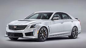 Der Cadillac CTS-V Sedan soll Anfang 2016 auf den europäischen Markt kommen.