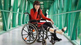 Die FIV zahlt bei körperlichen Einschränkungen. Psychische Erkrankungen lassen sich nicht versichern.