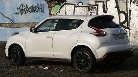 Die Optik eines Nissan Juke bleibt Geschmackssache, die Leistung nicht.