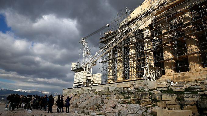 Athen bleibt für die Eurogruppe eine Baustelle.