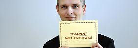 Was jeder wissen sollte: Zehn Fragen rund ums Testament