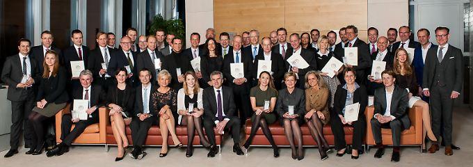 Die Gewinner des Deutschen Servicepreises wurden feierlich in der Berliner Bertelsmannrepräsentanz ausgezeichnet.