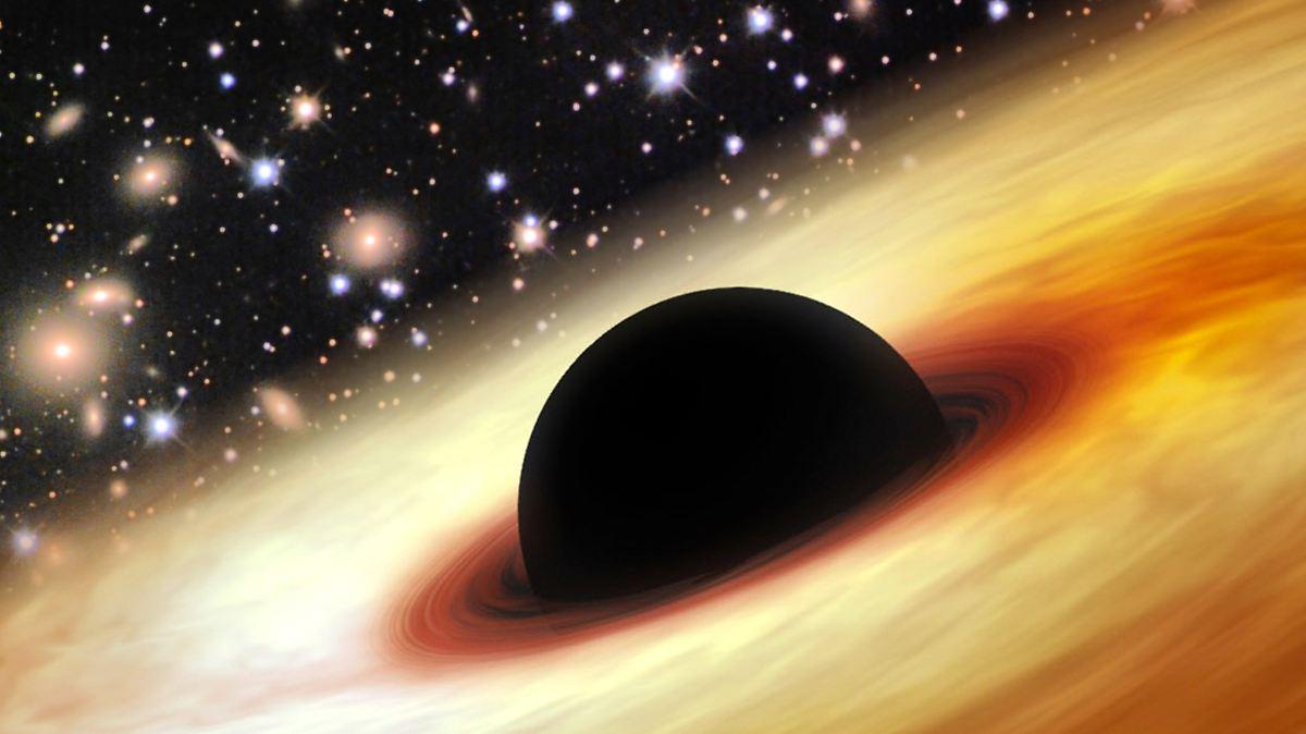 Monströses Schwarzes Loch gibt Rätsel auf