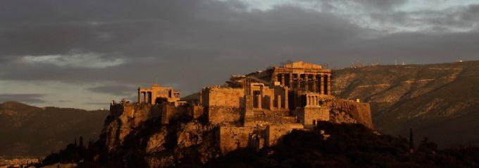 Die Akropolis in Athen. Bislang wird der Eintritt in dieses historische Baudenkmal in Euro bezahlt.