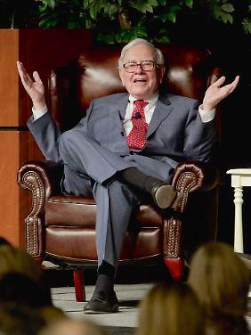 Kann mal passieren: Warren Buffett muss ein Minus in seine Bücher schreiben.