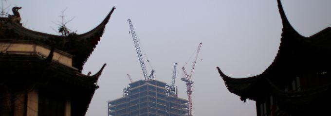 Zinsen gehen runter: China senkt Wachstumsziel