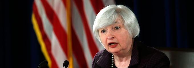 Fed-Chefin Janet Yellen und ihr Gremium ändern erst einmal nichts am Leitzins.