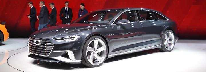 Nach dem Coupé-Konzept Prologue stellt Audi auf dem Genfer Salon eine Kombi-Version des Design- und Technologie-Trägers vor.