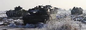 """Deutsch-französische Panzerfusion: """"Leo II"""" ist jetzt ein Europäer"""