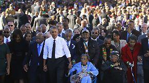 """50 Jahre nach Selma: Obama erinnert an den """"Bloody Sunday"""""""