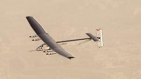 72 Meter Flügelspannweite: Solarflugzeug startet Weltrekordversuch