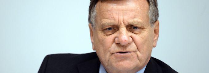 Nur noch wenige Tage Flughafenchef: Hartmut Mehdorn.